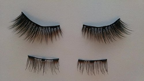 Faux Mink Magnetic Eyelashes - Full Width - Curves with 3 Magnets - Handmade in USA Center Faux Eyelashes