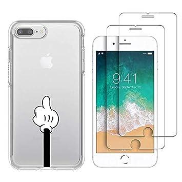 coque iphone 8 plus avec doigt