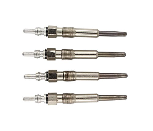 XtremeAmazing Pack of 4 Pcs Diesel Glow Plug Plugs Dual Coil For VW Golf Beetle Passat Jetta GL TDI 1.9L 1.9TDI 0250202022 N10140104 N10140105 N10140103