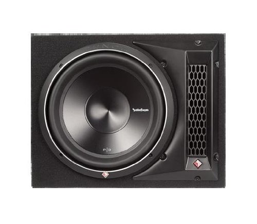 1X12 600 Watts Single Rms Subwoofer Enclosure (Rockford Fosgate Subwoofer Enclosures)