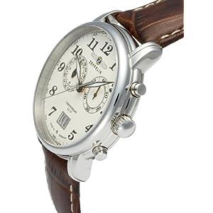 Zeppelin Series LZ127 Graf Zeppelin Men's Chrono Date Analog Watch 7684-5
