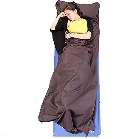 SUHAGN Saco de dormir Bolsa De Dormir Ultra Ligera Funda De Viaje Único Para Adultos Piscina