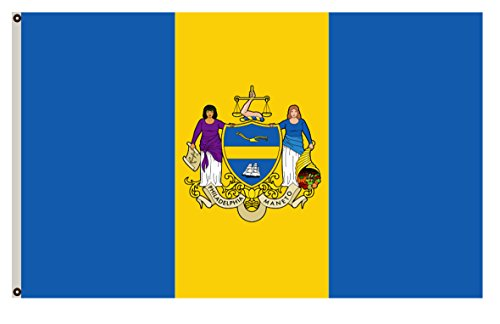 Fyon Pennsylvania banner City of Philadelphia Flag 6x10ft