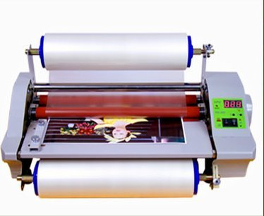 Digital FM360E Two-sided 4 Rollers Laminator 35cm Hot Roll Laminating Machine 1.2m/min (110v)