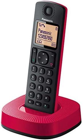 Panasonic KX-TGC310 - Teléfono Fijo Inalámbrico (LCD, Identificador De Llamadas, 16H Uso Continuo, Localizador, Agenda De 50 números, Bloqueo Llamada, Modo ECO, Reducción Ruido), Color Negro: Amazon.es: Electrónica