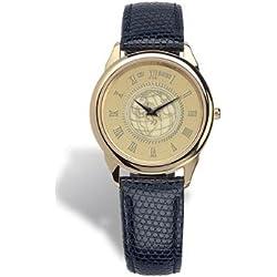 Temple Owls Men's 18K Gold 5M Watch Black