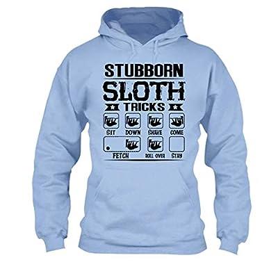 Stubborn Sloth Tricks Tee Shirt, Cool Long Sleeve Shirt - Sloth T-Shirts