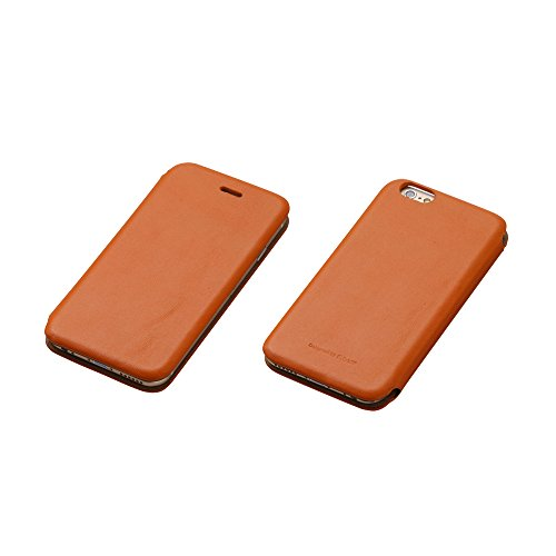 Deff Premium Genuine Leather Style Case - Vintage Book Style Wallet Leather Cover for Apple iPhone 6 Plus for iPhone 6 Plus (Camel)