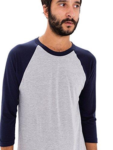 Cotton 3/4 Sleeve Raglan - 4