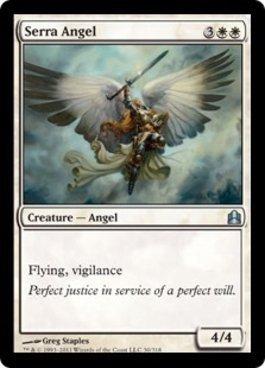 Magic: the Gathering - Serra Angel - Commander by Magic: the ...