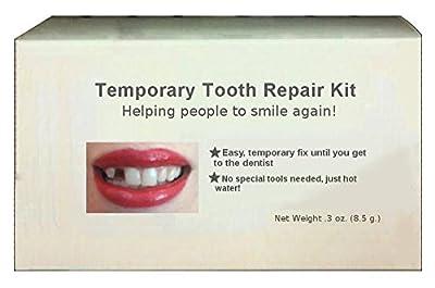 Temporary tooth repair kit