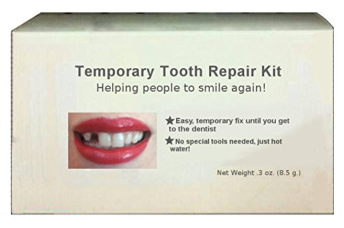 Price comparison product image Temporary tooth repair kit temp dental fix missing for 30 teeth! Triple!