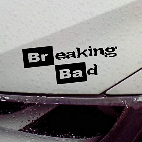 DECAL-STYLE - Breaking Bad Walt White Cook Sticker Vinyl Car Window Decal/Reflective Silver