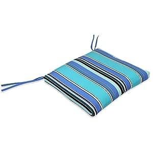 Comfort Classics Sunbrella Waterfall Style Seat Cushion - 18 x 18 x 2 in.