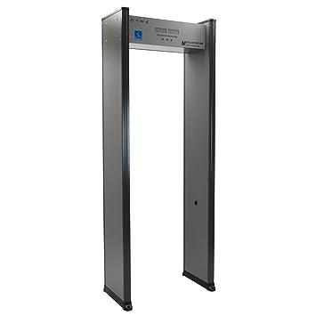 Arco detector de metales aeropuerto