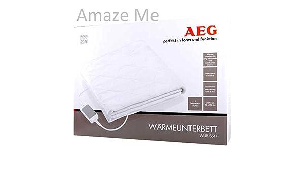AEG calor para debajo de la cama WUB 5646/manta eléctrica - Chubby calor relajante no sólo para los fríos días de! Podrás ver tu muñeca con colour!: