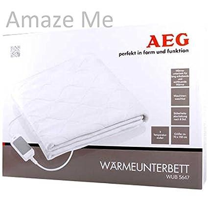 AEG calor para debajo de la cama WUB 5646/manta eléctrica - Chubby calor relajante