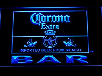 Amazon corona bar beer extra led neon light sign man cave 418 corona bar beer extra led neon light sign man cave 418 b mozeypictures Images