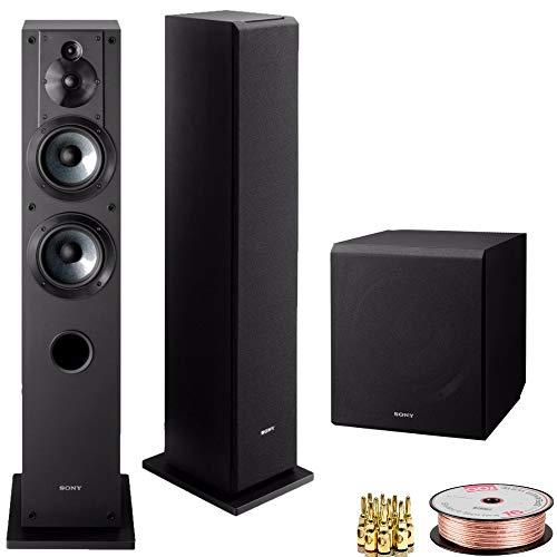 Sony SSCS3 3-Way Floor-Standing Speakers (Pair, 2