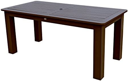 Highwood AD-DTB37-ACE Lehigh and Weatherly Rectangular Dining Table, 37 by 72-Inch, Height, Weathered Acorn