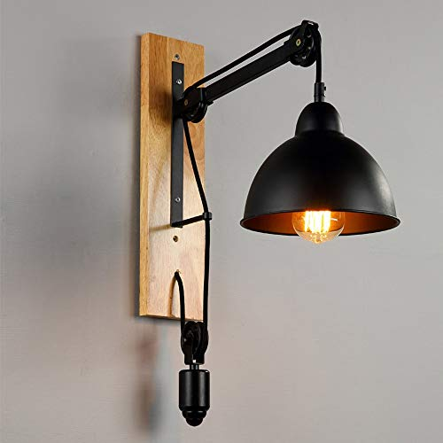 Wall Lights Adjustable, Lifting Pulley Wall Lamp -, used for sale  Delivered anywhere in Canada