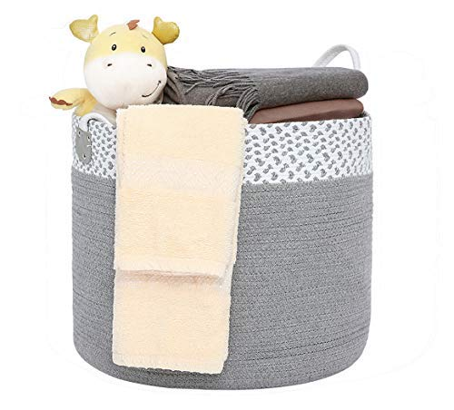 Doannotium Cotton Rope Storage Basket 16