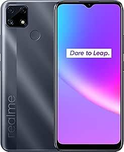 Realme C25 Dual SIM - 6.5 inches, 64 GB, 4 GB RAM, 4G LTE - Grey