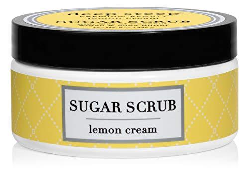 - Deep Steep Sugar Scrub, 8 Ounce (Lemon Cream)