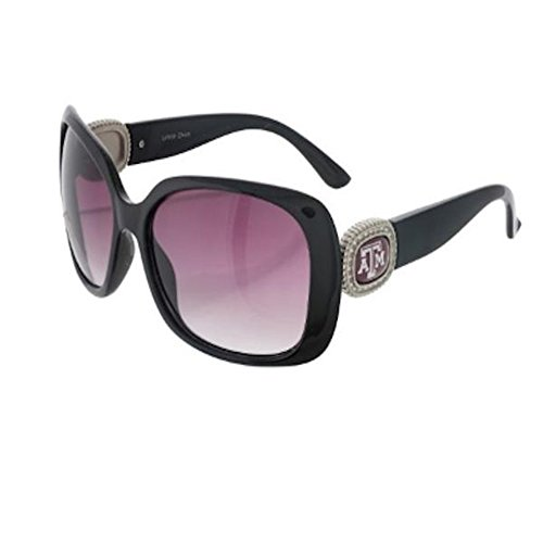 Texas A&M Aggies Chantilly Sunglasses Embelished with Rhinestone - M Logo Sunglasses