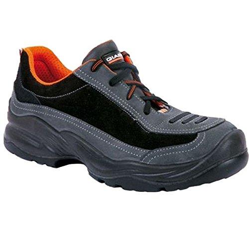 Giasco HRD052T45 Franklin Chaussures de sécurité bas SB Taille 45 Noir/Orange