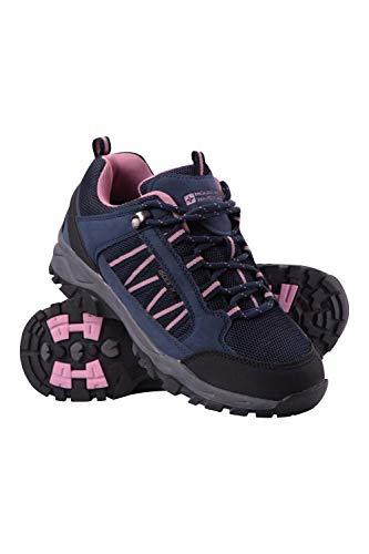 Mountain Warehouse Path Womens Hiking Shoes - Ladies Walking Shoes Navy Womens Shoe Size 7 US