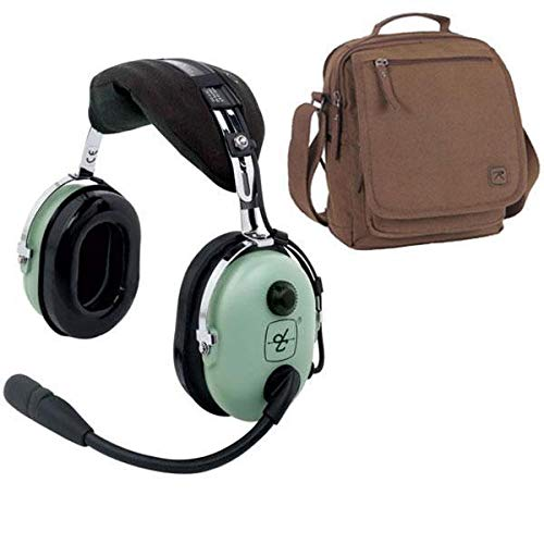 - David Clark H10-13S Stereo Headset & Headset Bag Combo