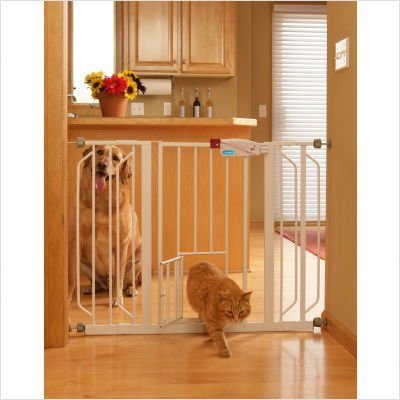 31jRoAhElML Carlson Pet Products Carlson Extension Kit for Extra Wide Pet Gate, 12-Inch