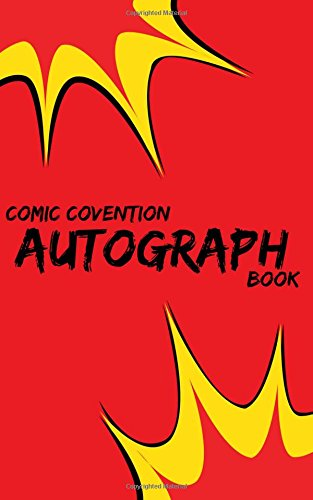 Comic Convention Autograph Book (Comic Con)