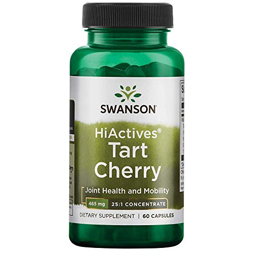 - Swanson Hiactives Tart Cherry 465 Milligrams 60 Capsules