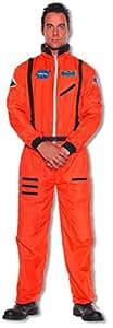mono naranja astronauta