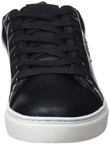 Ultra Sneakers Noir Tape Negro Vertigo Oil 84096 Textil Basses C42647 MTNG Negro Homme Negro q4nBpwxHB
