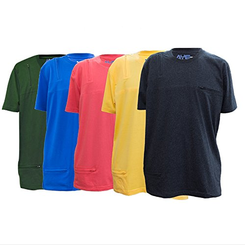 AyeGear T3 Tshirt with 3 Discreet Pockets, Premium Quality, Ultra Soft Touch Feel, Sports and Travel Tshirt