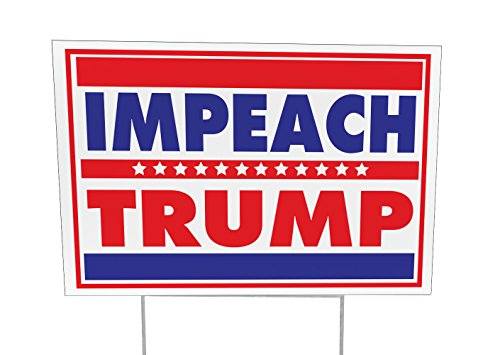 Imagine This YY7788 Impeach Trump Yard Sign Outdoor Lawn by Imagine This