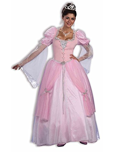 Forum Fairy Tales Fashions Fairy Tale Princess Dress, Pink, Standard Costume]()