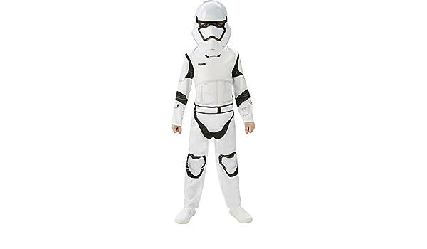 7 Carnaval clásico traje de Stormtrooper niño Star Wars ...