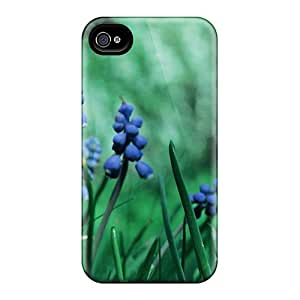 Premium Iphone 6 Cases - Protective Skin - High Quality For Mother S Day Beautiful Flower Blue And Green