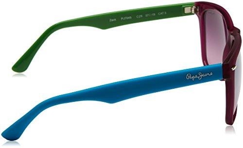 Pepe Unisex 57 Jeans Gafas Sol Azul de Granate Pj7049C2957 Verde rqzrwZX