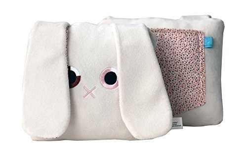 Poketti Plushies with a Pocket Plush Toy Rabbit Pillow Toni the Bunny