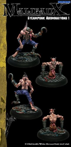 Steampunk Abominations 1 (2 Pack) Outcasts Malifaux 3