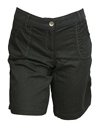 Ladies Supersoft Lightweight Turn-Up Cargo Shorts: Amazon.co.uk ...