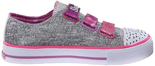 Skechers Shuffles Poplife - Zapatillas De Deporte Niñas Gris (Gymt)