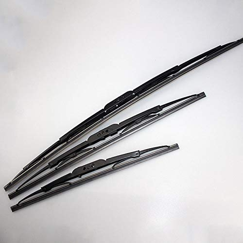 FidgetFidget Front Windshield Framed Wiper Blades for 2007-2