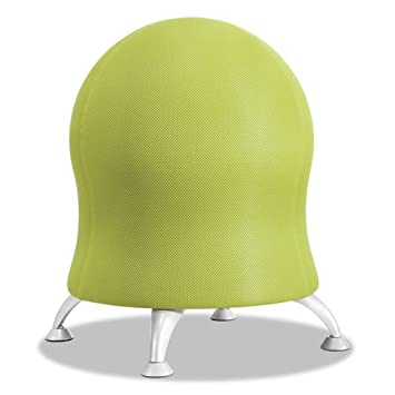 Safco Products 4750GS Zenergy Ball Chair, Grass