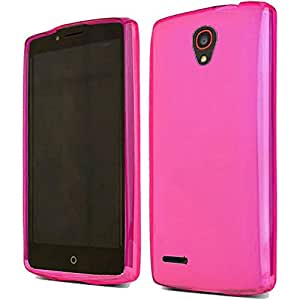 HR Wireless Phone Case for Alcatel OneTouch Conquest - Retail Packaging - Hot Pink